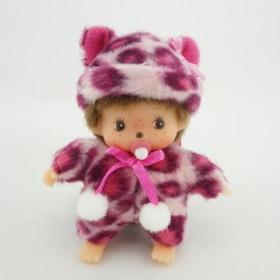 Bebichhichi 粉紅豹紋掛件