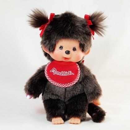 Monchhichi 標準型孖辮女孩 (Premium)