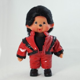 Monchhichi Michael Jackson 紅色版