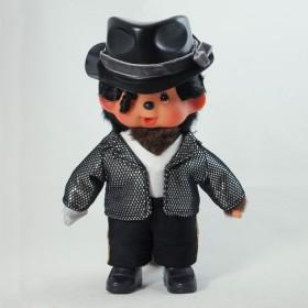 Monchhichi Michael Jackson 黑色禮帽版