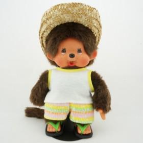 Monchhichi草帽鬍鬚男孩