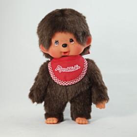 Monchhichi 基本款圍巾男孩(紅)