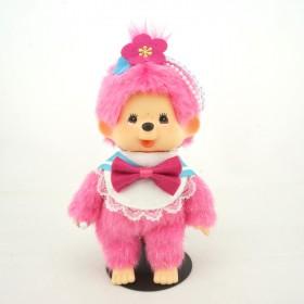 Monchhichi x JOL 水手服粉紅女孩掛件