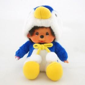 Monchhichi 企鵝坐姿男孩