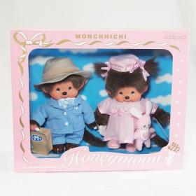 Monchhichi 蜜月夫妻套裝禮盒
