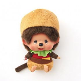 Monchhichi 漢堡包大頭