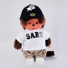 Monchhichi SARU白色T恤男孩