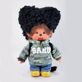 Monchhichi SARU 愛心髮型男孩
