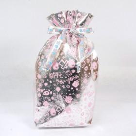 Monchhichi 銀色小型禮品袋