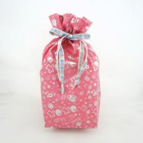 Monchhichi 粉紅色大型禮品袋