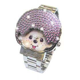 粉紅Monchhichi手錶