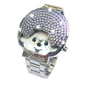 白色Monchhichi手錶