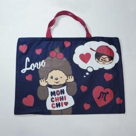 Monchhichi Tote Bag 手提袋(藍色)