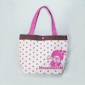 Monchhichi 帆布袋(粉紅色)