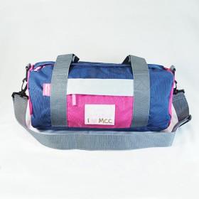 Monchhichi 波士頓袋(深藍色)(大)
