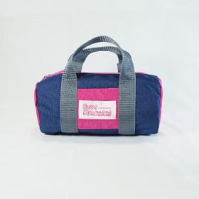 Monchhichi 波士頓袋(深藍色)(小)