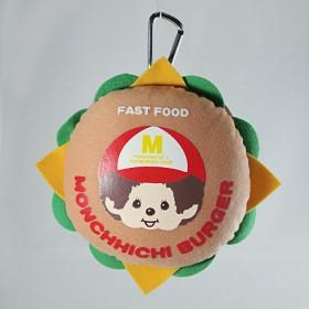 Monchhichi 漢堡包零錢包