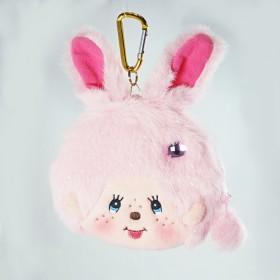 Monchhichi 兔子- 零錢包/卡套 (粉紅色)