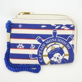 Monchhichi 帆布水手卡片套
