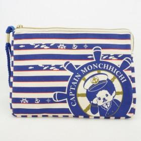 Monchhichi 帆布水手長方包