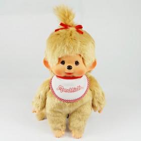 Monchhichi 基本款金髮女孩 (Premium) (中型)