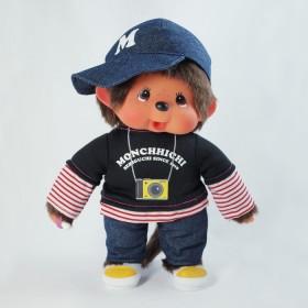 Monchhichi 相機T-Shirt男孩