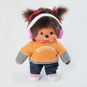 Monchhichi 耳機女孩