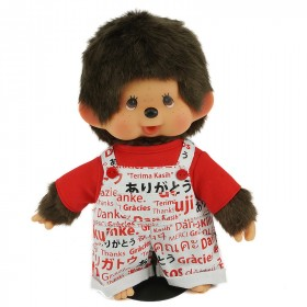 Monchhichi Thank-you 工人褲男孩