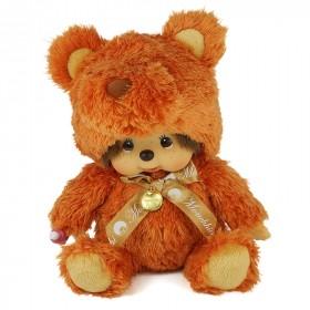 Monchhichi 橙色小熊 (中型)
