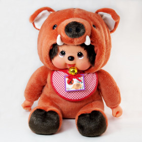 Monchhichi 十二生肖野豬男孩 (45cm)