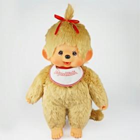 Monchhichi 基本款金髮女孩 (Premium) (大型)