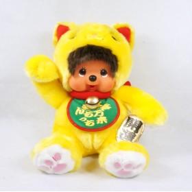 Monchhichi 黃金招財貓 (45cm)