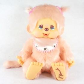 Monchhichi 設計師粉紅色特別版女孩 (45cm)
