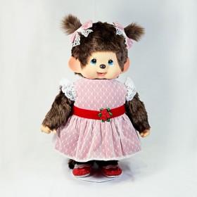 Monchhichi 盛裝女孩 (紅色)(45cm)