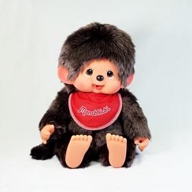 Monchhichi 基本款圍巾男孩(紅色)