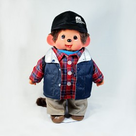 Monchhichi 東京時裝系列-戶外男孩(45cm)