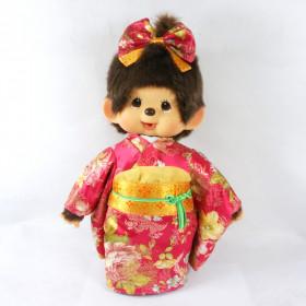 Monchhichi 傳統和服女孩 (大型)