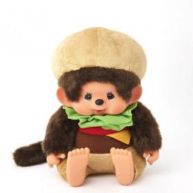 Monchhichi 漢堡包(大)