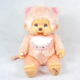 Monchhichi粉紅色設計師特別版女孩 中型