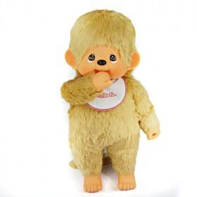 Monchhichi 基本款金髮男孩 (Premium) (特大型)