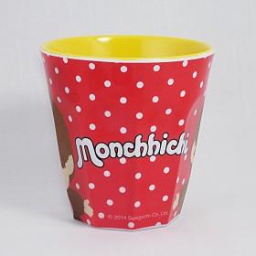 Monchhichi 紅色膠杯