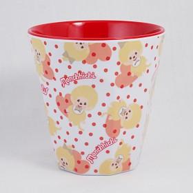 Monchhichi 金色膠杯