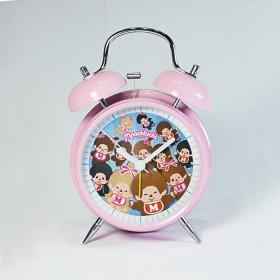 Monchhichi  鬧鐘(粉紅色)