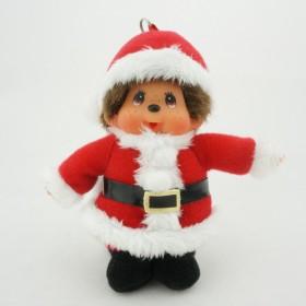 Monchhichi聖誕老人手機掛件