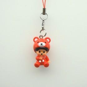 Monchhichi PVC小熊掛件
