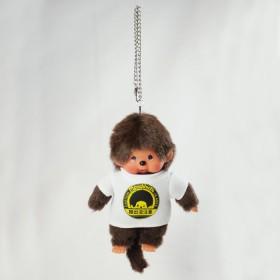 Monchhichi  猴出沒注意T-Shirt男孩 掛件