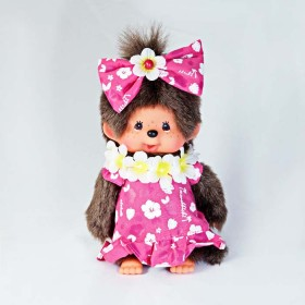 "Monchhichi ""I love Hawaii"" 掛件(大)"