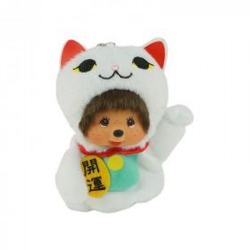 Monchhichi 招財貓掛件