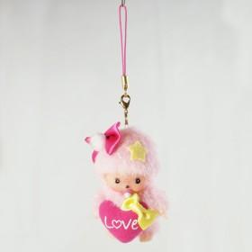 Bebichhichi 糖果系列 手機鏈掛件(粉紅色)