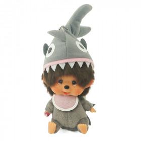 Monchhichi 大頭鯊魚男孩掛件